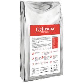 Delicana Сухой корм для щенков средних пород, говядина 16кг