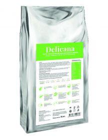 Delicana Сухой корм для щенков средних пород, с ягненком и рисом, 16кг