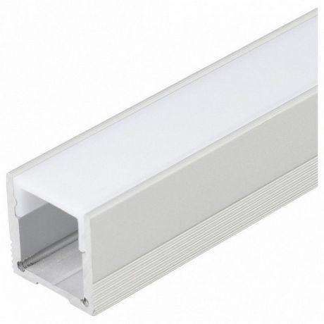 Накладной алюминиевый профиль для светодиодной ленты