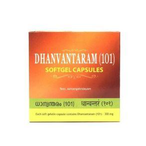 Дханвантарам (101) Dhanvantaram (101) Soft Gel Kottakkal 100 капсул