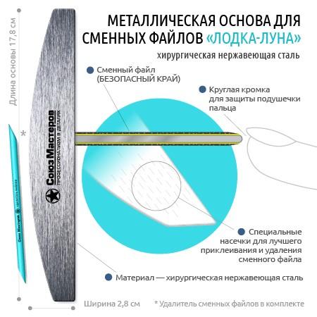 Союз Мастеров Арт.901070 Основа металлическая Лодка/Луна