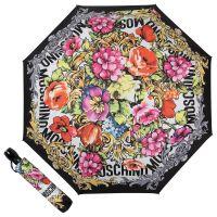 Зонт складной Moschino 8916-OCA Flowers Black
