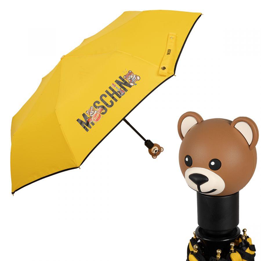 Зонт складной Moschino 8031-OCU Toy Band Yellow