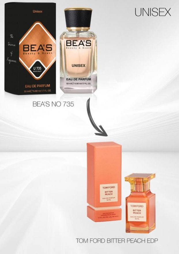 BEA'S (Beauty & Scent) U 735 - Tom Ford Bitter Peach 50 мл