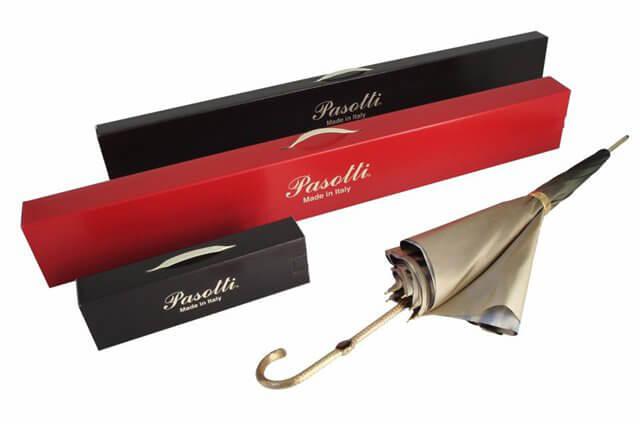 Подарочная упаковка для зонтов-тростей/тростей Pasotti