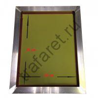 Рама 60х70 см с сеткой от 16/200 до 120/34 (внешн. размер 685х786 мм, профиль 28х43х1,4 мм