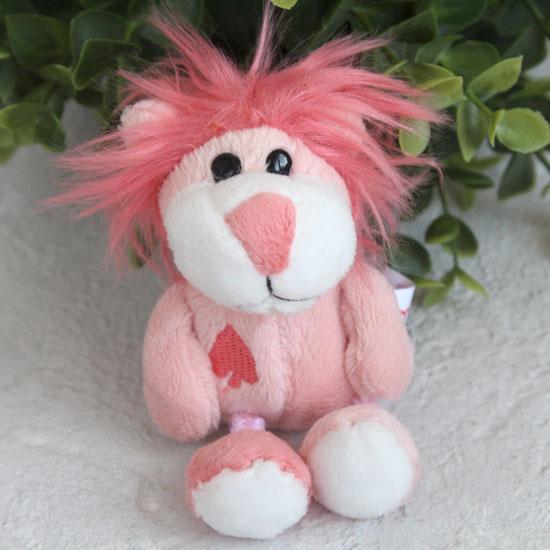 Игрушка для куклы Nici,  львенок розовый
