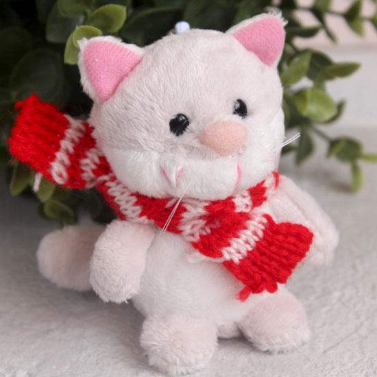 Игрушка для куклы Nici, котик в шарфике