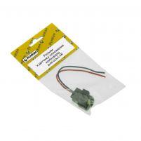 RK04185 * Разъём к датчику положения коленвала для а/м LAR (с проводами сечением 0,5 кв.мм, длина 120 мм)