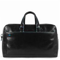 Дорожная сумка Piquadro BV5407B2/N кожаная черная