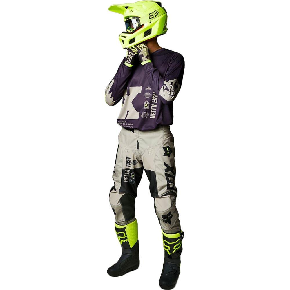 Fox 180 Illmatik Dark Purple/Sand джерси и штаны для мотокросса