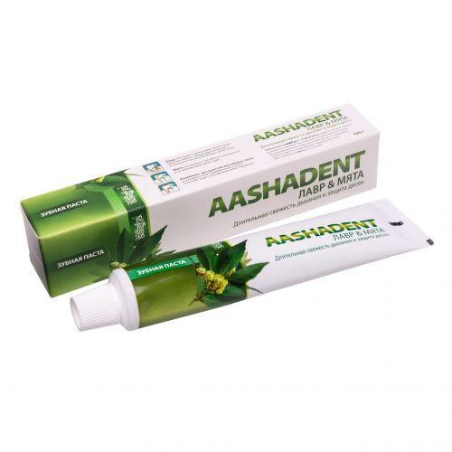Зубная паста | Лавр-Мята | 100 г | Aasha