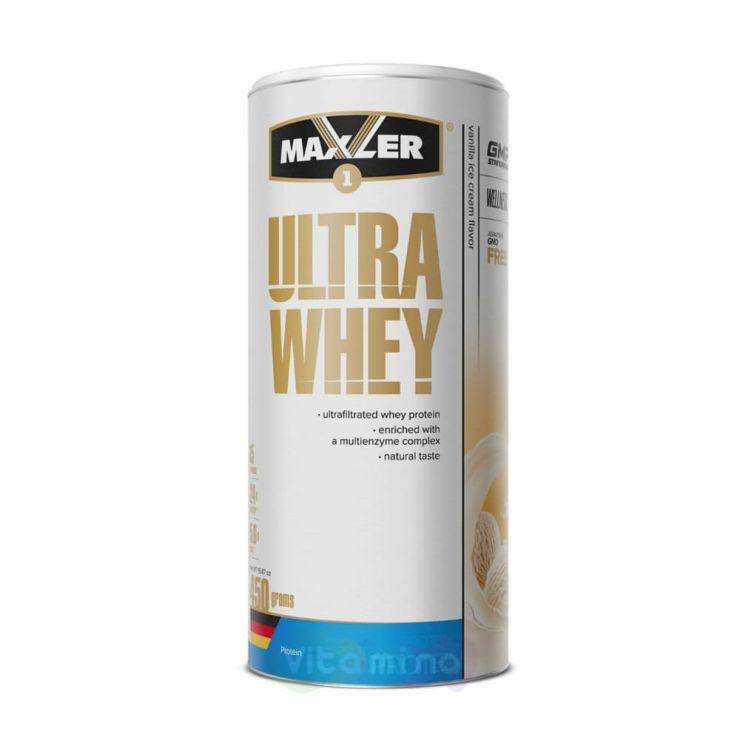 MAXLER Протеин Ultra Whey, 450 г