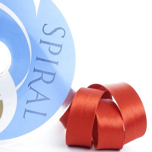 фото Косая бейка SAFISA SPIRAL Атласная однотонная полиэстер, 30 мм Испания 6260-30 цвет 14