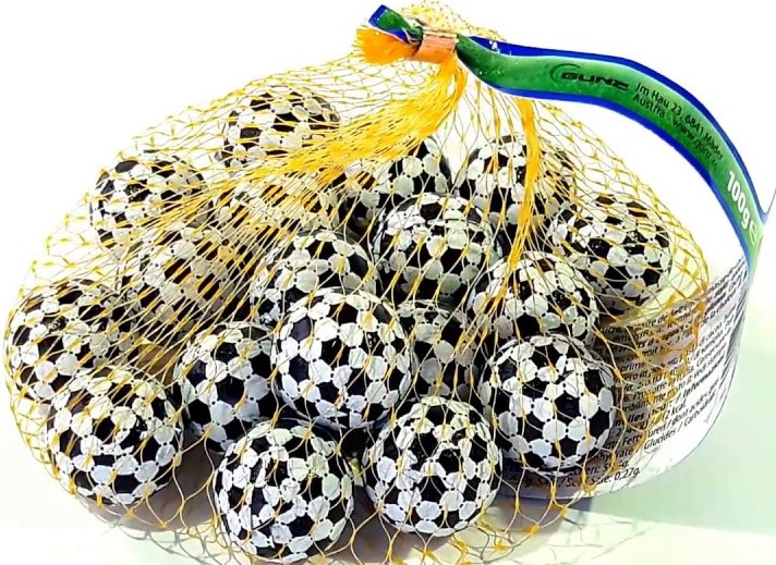 Шоколад Only (футбольные мячи) 100г