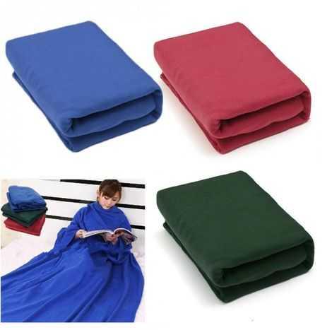 Одеяло - Плед - Халат с рукавами