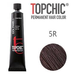 Goldwell Topchic 5R - Стойкая краска для волос - Красное дерево  60 мл.