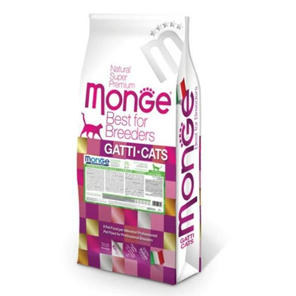 Сухой корм для кошек Monge Natural Superpremium с кроликом 10 кг