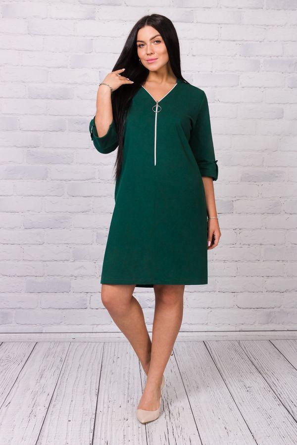 Платье 25191 [зеленый] р. 54 [распродажа]