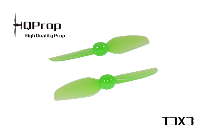 HQ Durable Prop T3X3 (2CW+2CCW)-Poly Carbonate