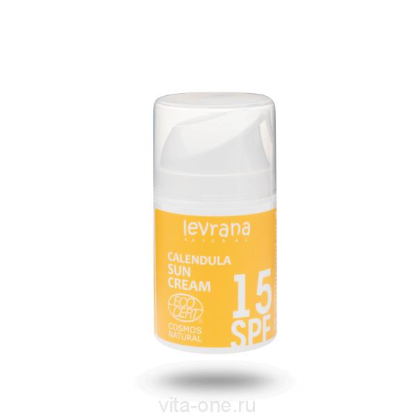 Крем для лица Календула с матирующим эффектом SPF 15 Levrana (Леврана) 50 мл