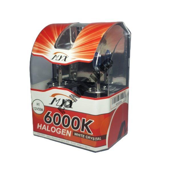 Галогеновые лампы H1 12V 55W 6000K