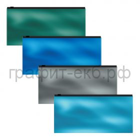 Конверт 225х125 на молнии ErichKrause Glossy Ice Metallic Travel 53298