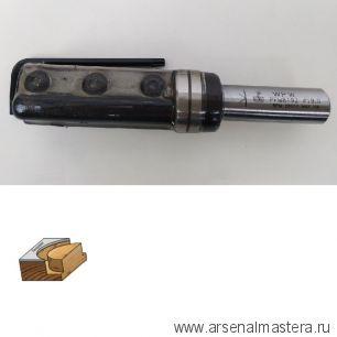 Фреза  копировальная со сменными ножами верхний подшипник D19 B50 Z2 S12  W.P.W. PFM8192