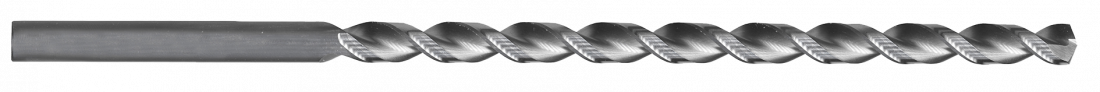 Сверло по металлу Heller HSS-G Super сверхдлинное DIN1869 12х260х375мм