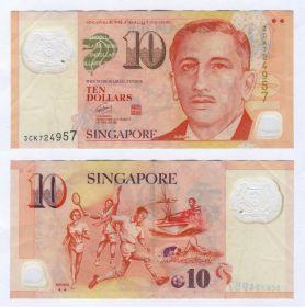 СИНГАПУР - 10 долларов 2004-2020 (серия спорт)