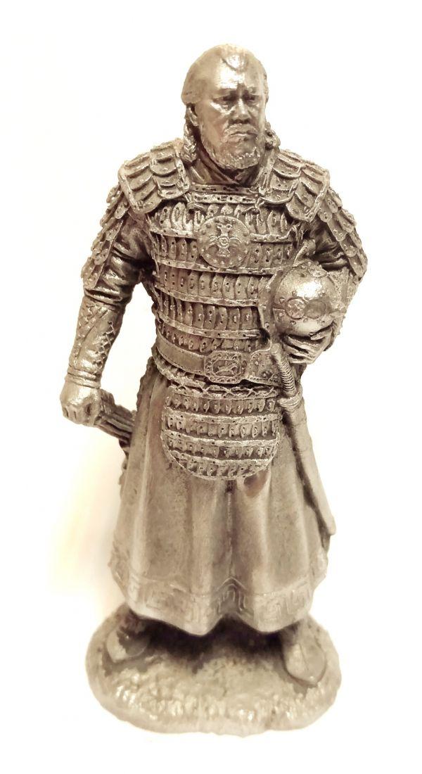 Фигурка Монгольский знатный воин олово