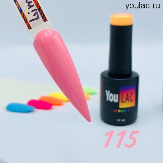 Гель-лак Limited 115 YouLAC , 10 мл