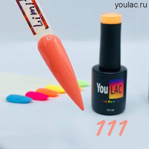 Гель-лак Limited 111 YouLAC , 10 мл