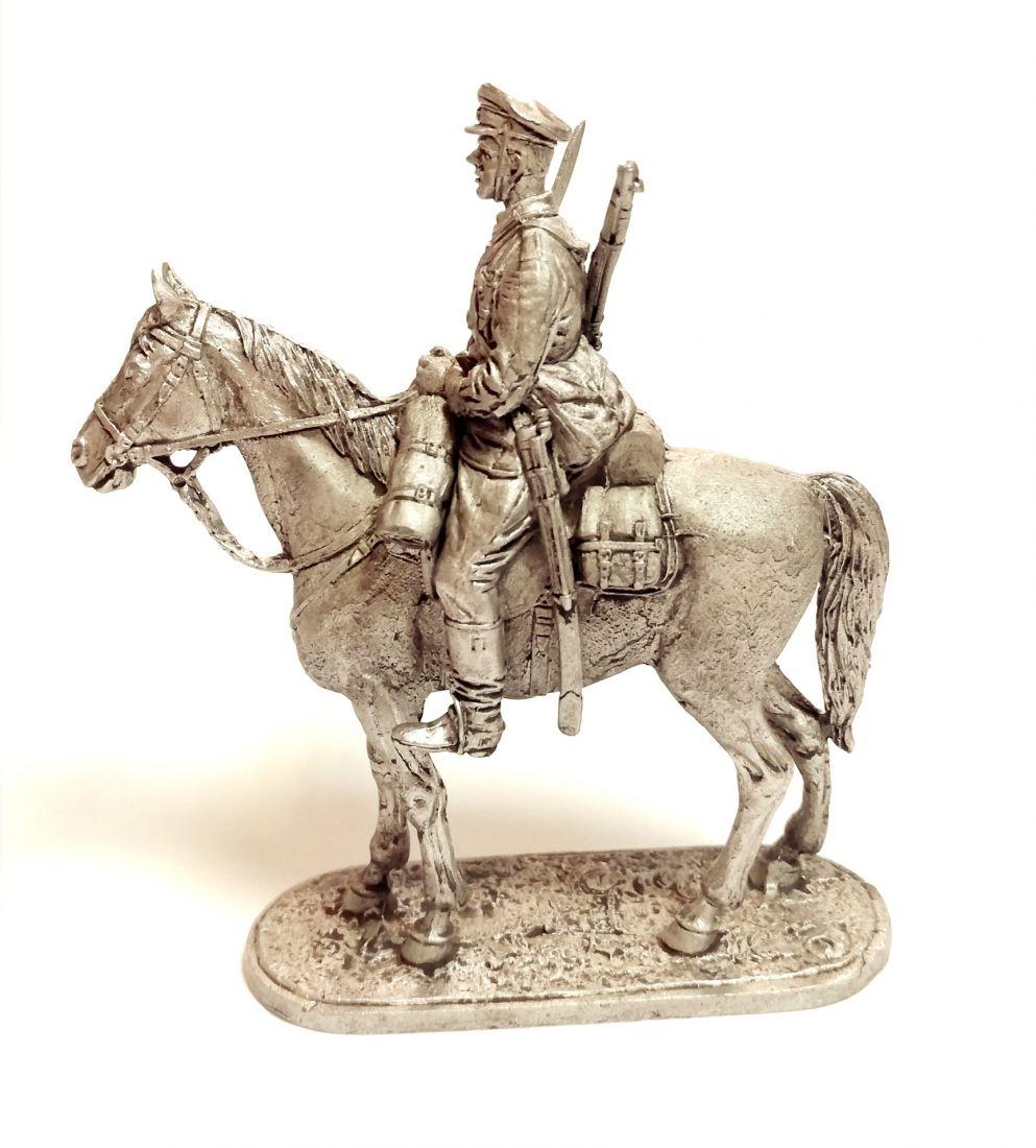 Фигурка Красноармеец кавалерист  олово
