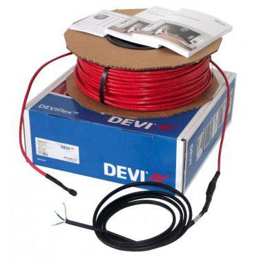 DEVIflex 18T 250 / 270 Вт, длина 15 м, обогрев 1,4-1,9м2