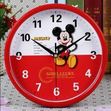 Часы настенные  в детскую комнату Микки Маус 26 см