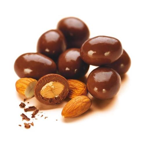 Миндаль в шоколадной глазури, 500гр