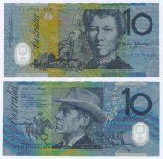 АВСТРАЛИЯ- 10 долларов. Полимерная банкнота