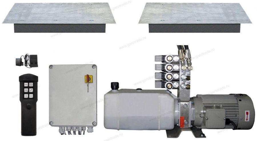 GST 2300 Гидравлический люфт-детектор (полный комплект)