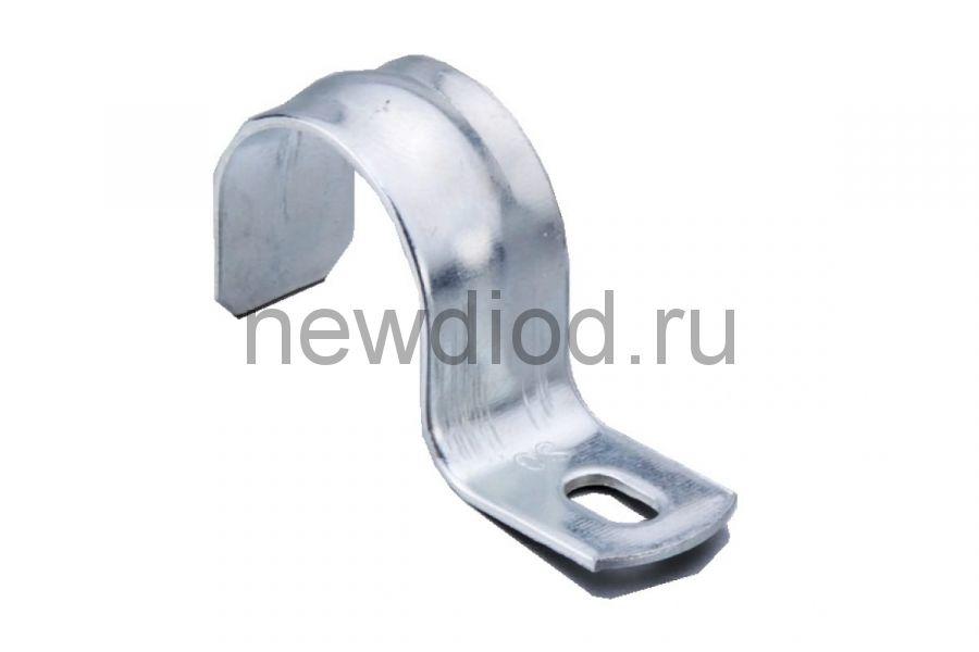 Скоба металлическая однолапковая СМО 19-20 (100 шт/уп) Промрукав