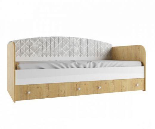 Сканди Кровать с ящиками