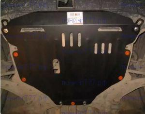 Защита картера и КПП, Alfeco, алюминий 3.5мм