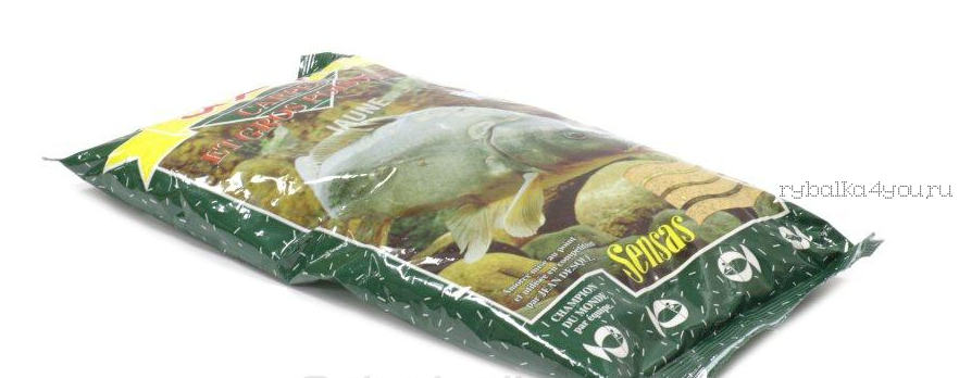 Прикормка Sensas 3000 Carp Jaune 1 кг (карп)