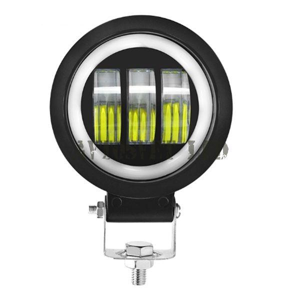 Фара LED светотеневая граница, ДХО ASR3DHO-7D-30W FLOOD