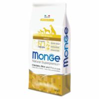 Сухой корм для собак Monge Speciality line Monoprotein с курицей рисом и картофелем 12 кг