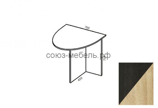 Триумф Стол приставной СП-0,7х0,45