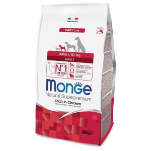 Сухой корм для собак мелких пород Monge Daily Line Mini курица 800 гр