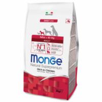 Сухой корм для собак мелких пород Monge Daily Line Mini курица 3 кг