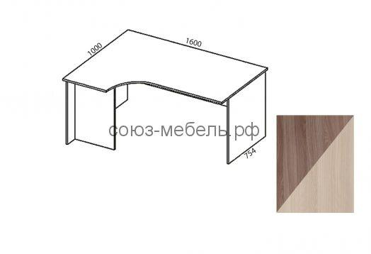 Триумф Стол угловой СТ-УГ 1,6х1,0