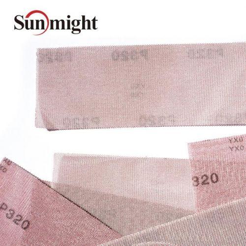 Сетчатый абразив на липучке SUN NET Р80 в полосках 70х420мм